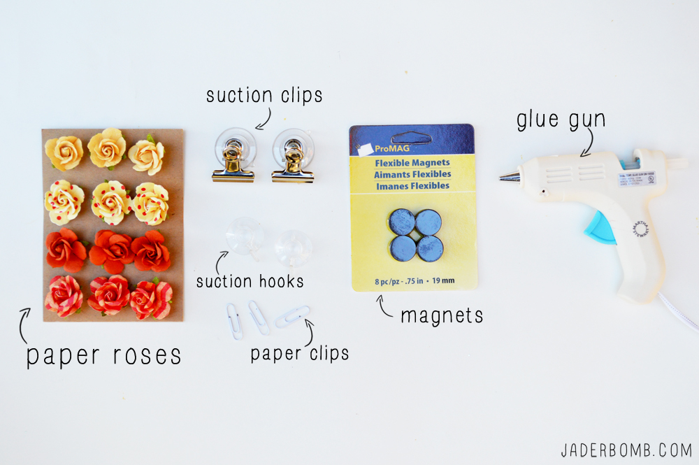 paper roses supplies