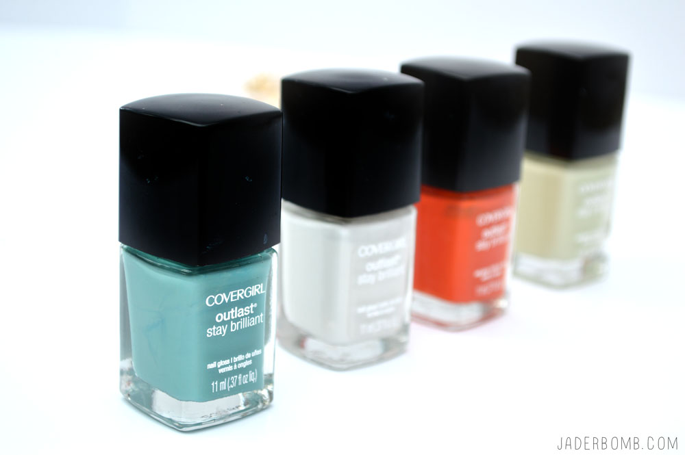 COVERGIRL NAIL POLISH DIY
