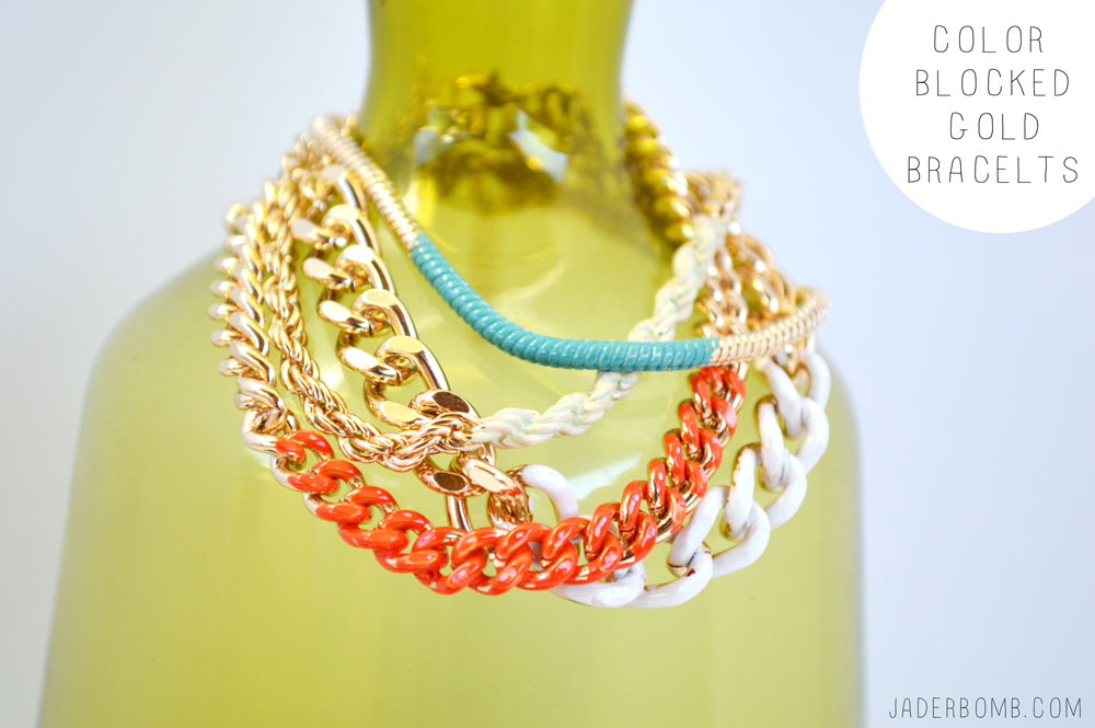 EASY COLOR BLOCKED JEWELERY