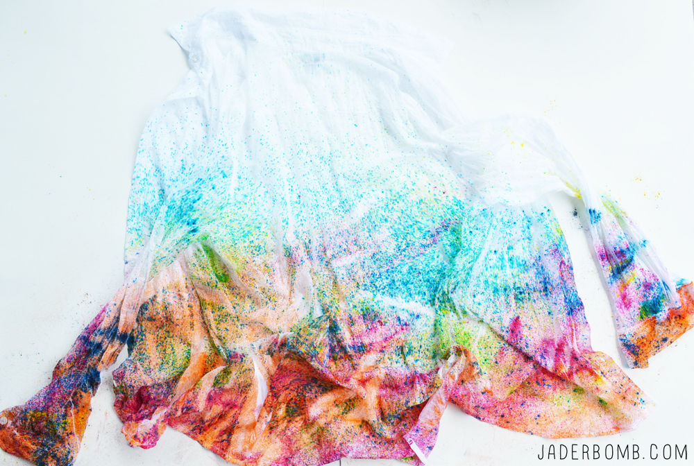 confetti tie dye