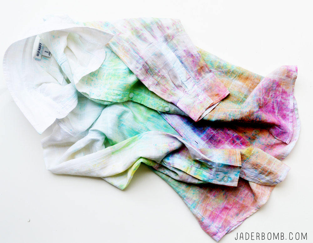 old navy tie dyed shirt