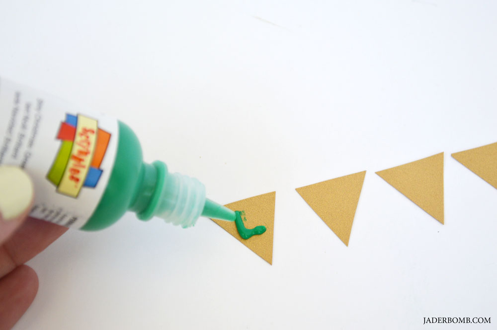 puff paint cake banner
