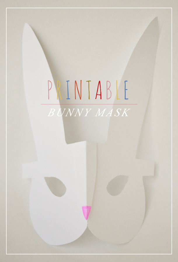 Printable-Bunny-Mask-Craft
