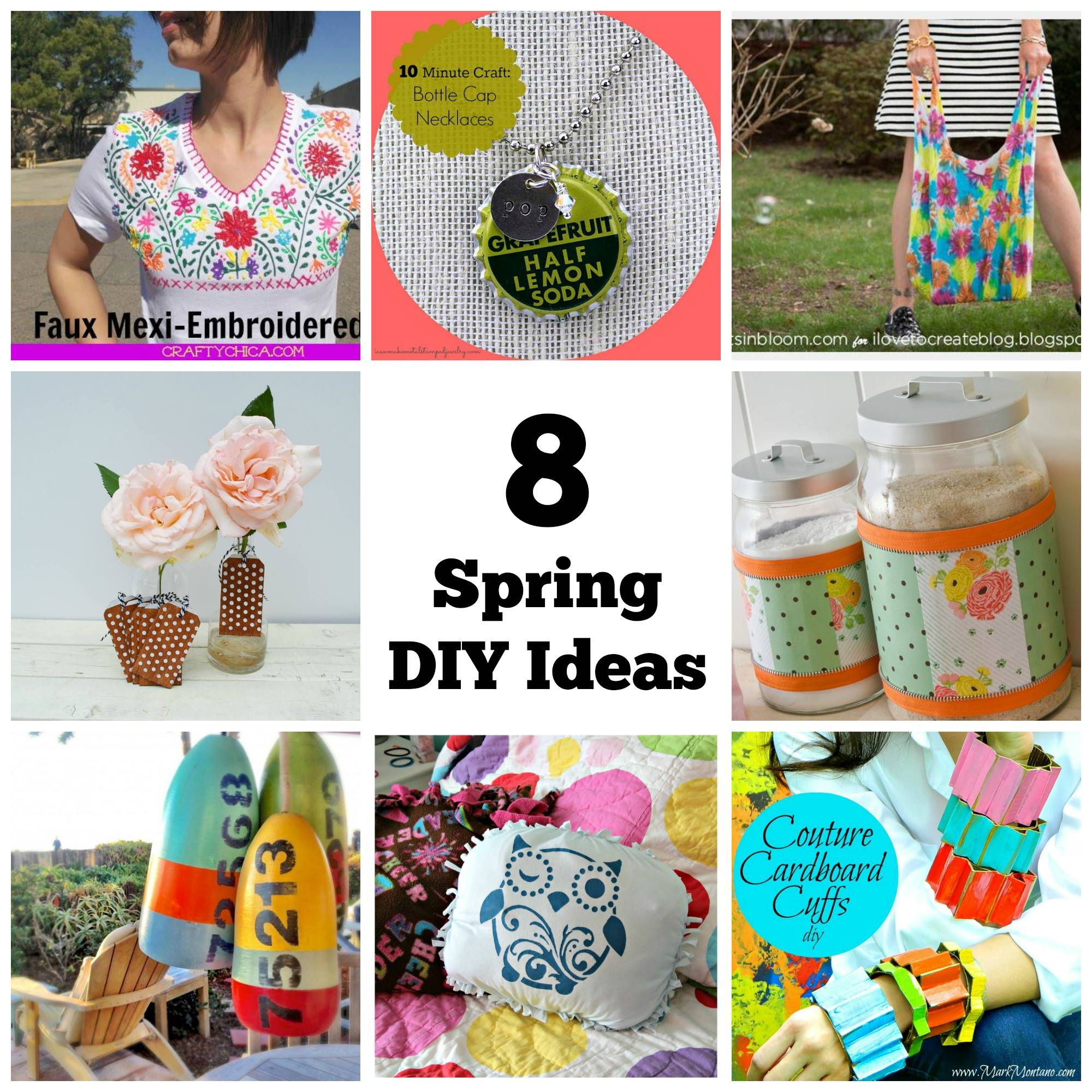 8 spring diy ideas