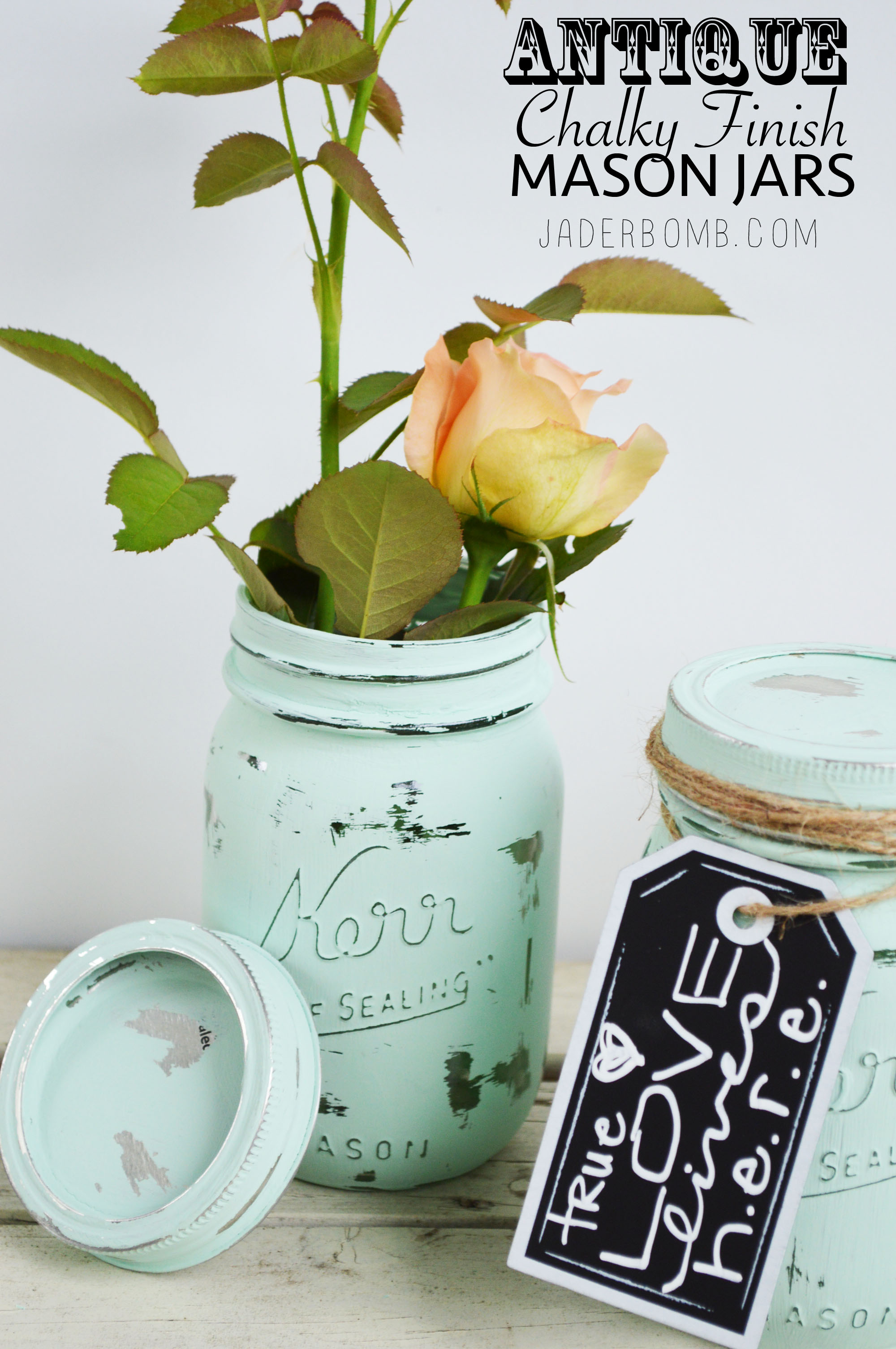 mason jar crafts vintage