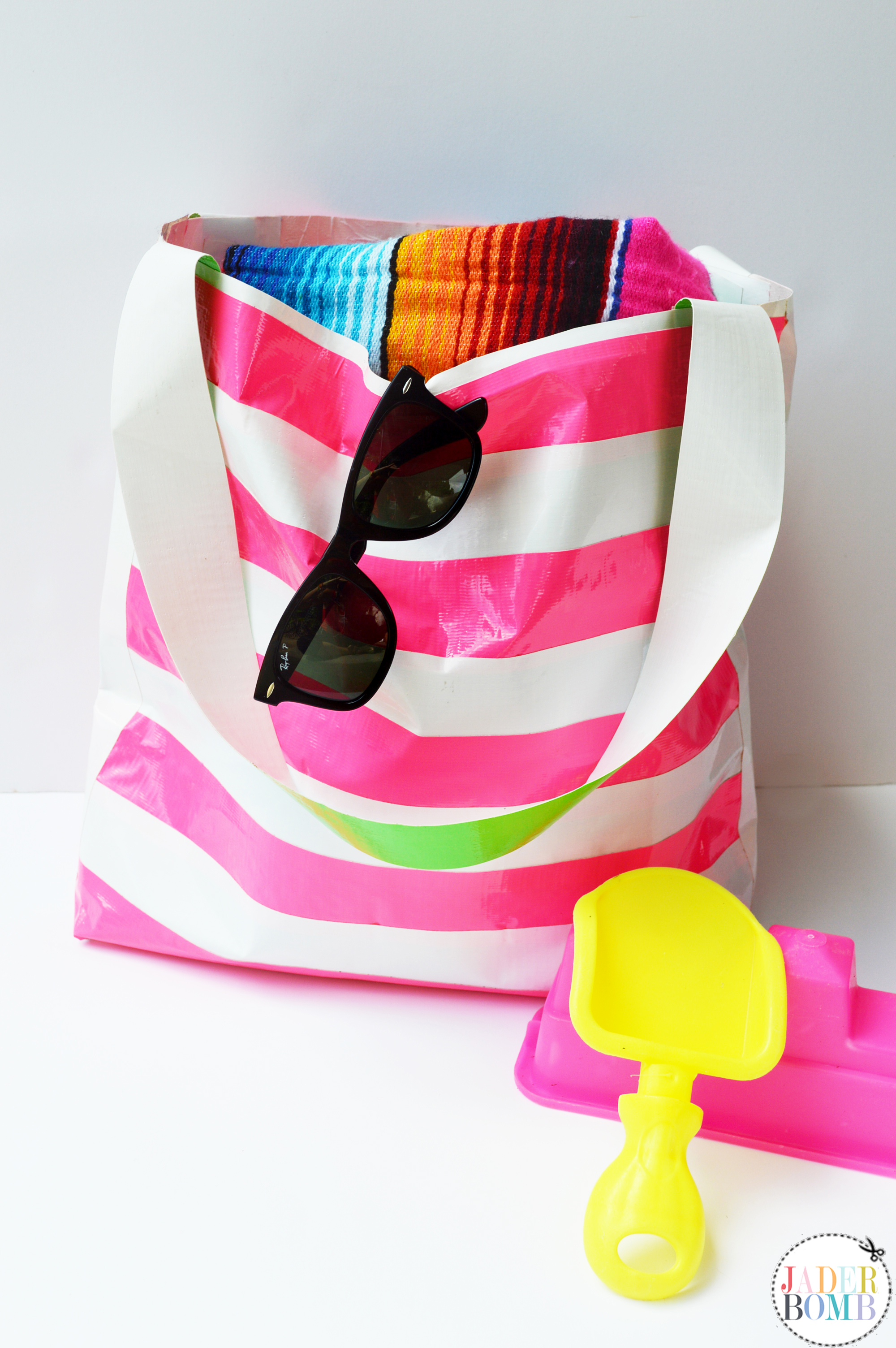 Waterproof Duck Tape Beach Bag