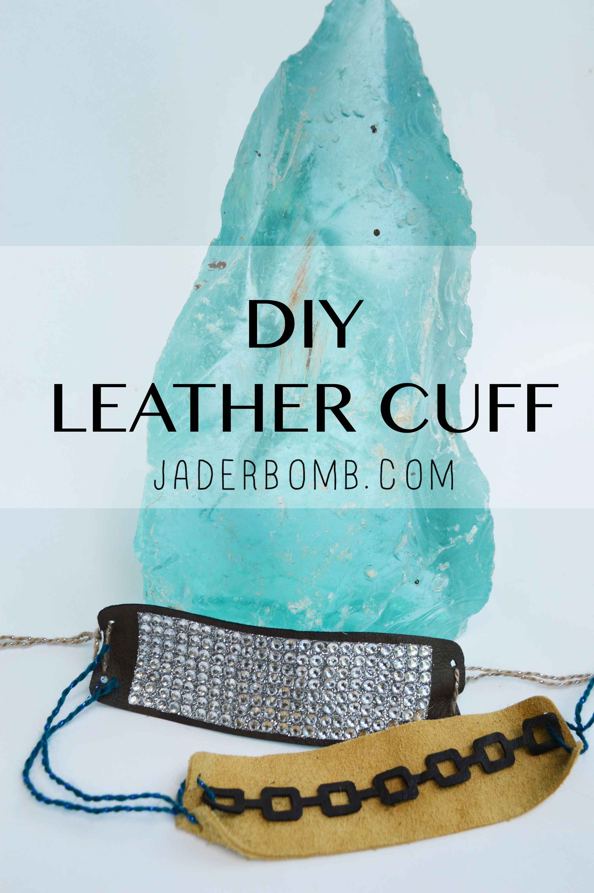 DIY Leather Cuff