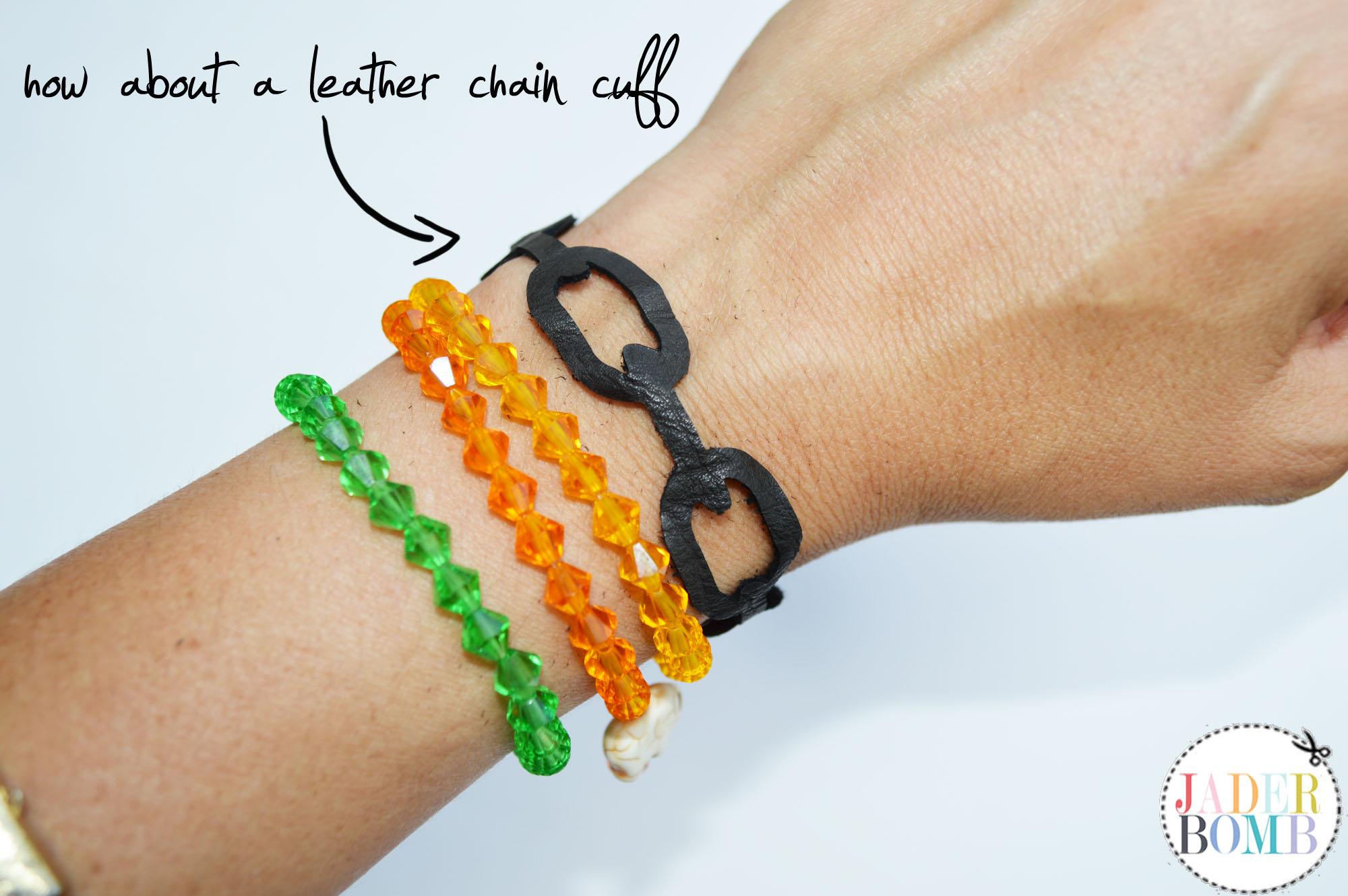 chain link die cut