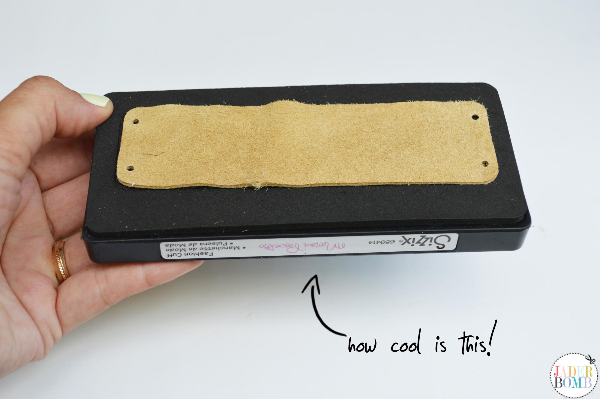 easy leather cuff
