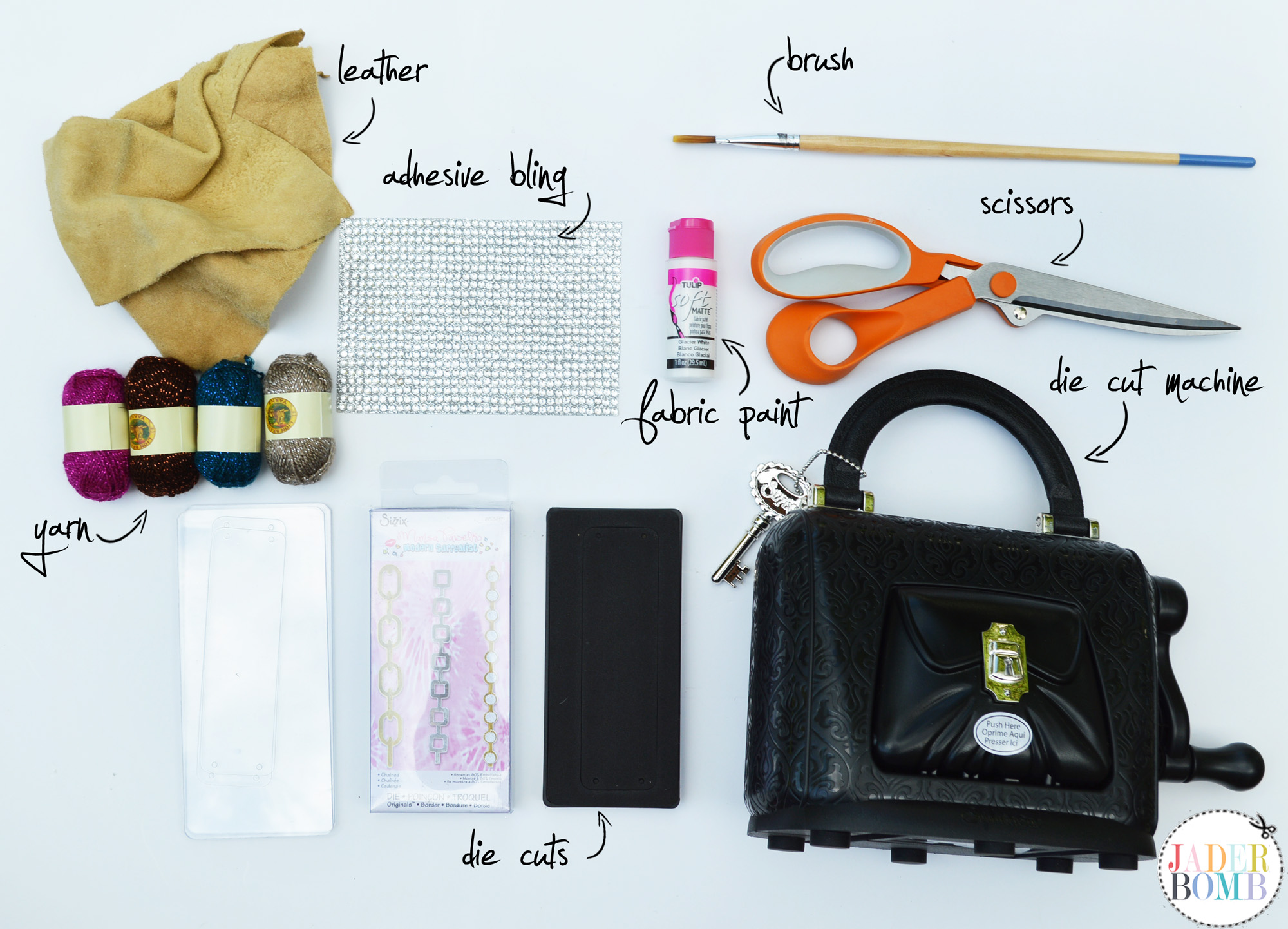 leather cuff supplies