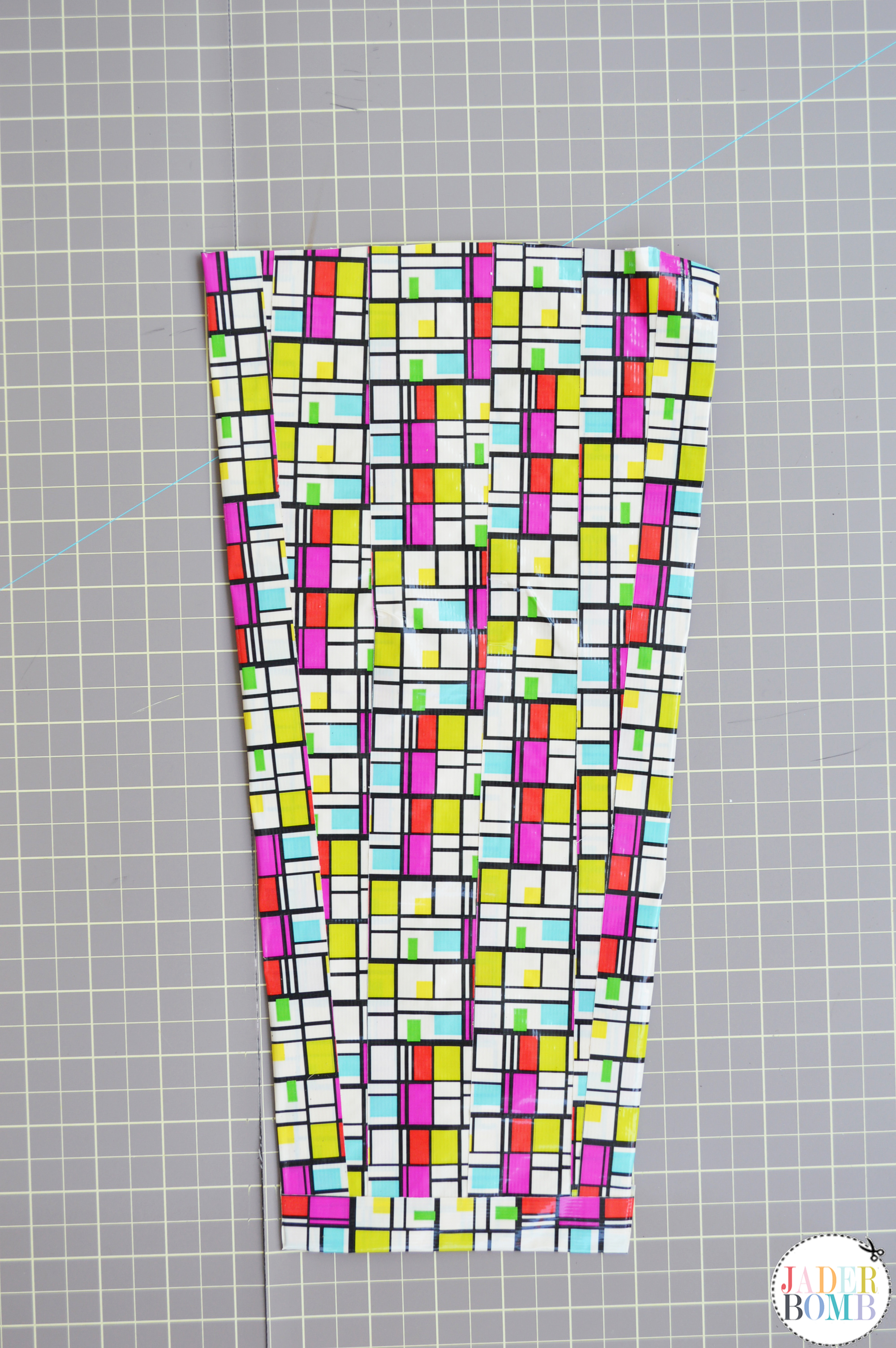 patterned duck tape bags