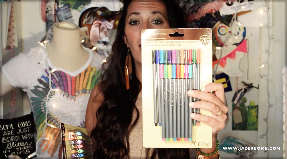 felt tip markers Michaels arts n crafts haul