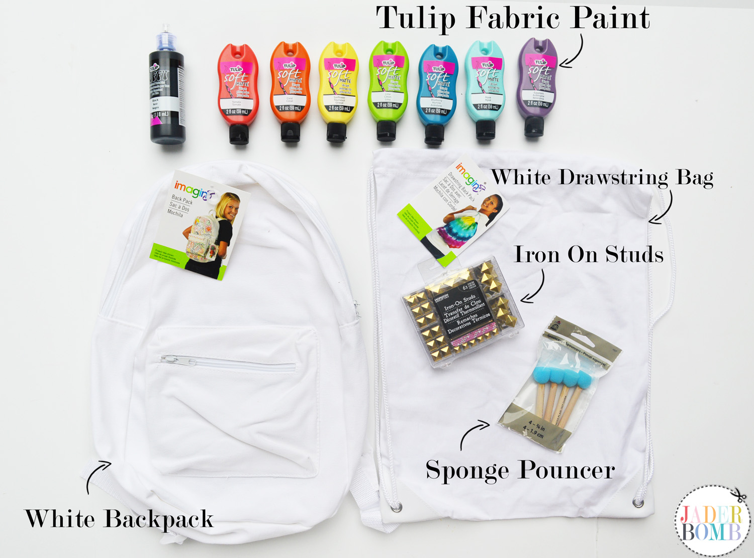 painted bag supplies
