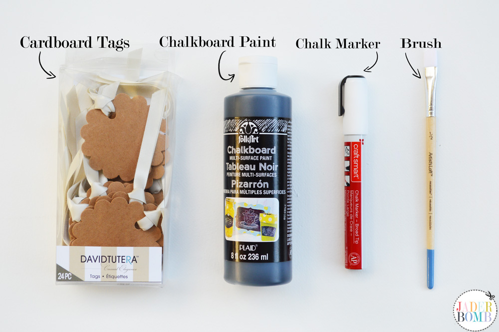 chalkboard label supplies