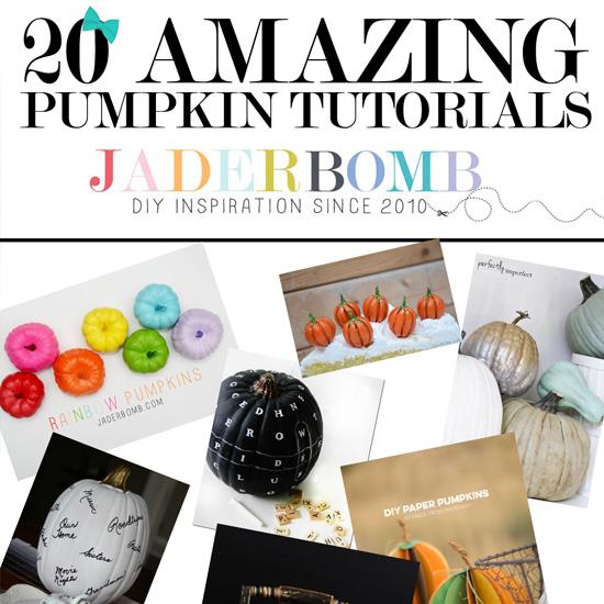 20 Amazing Pumpkin Tutorials
