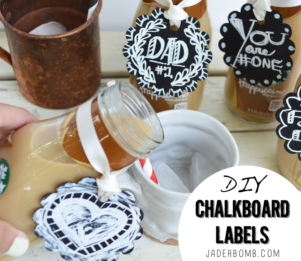 diy chalkboard labels tutorial