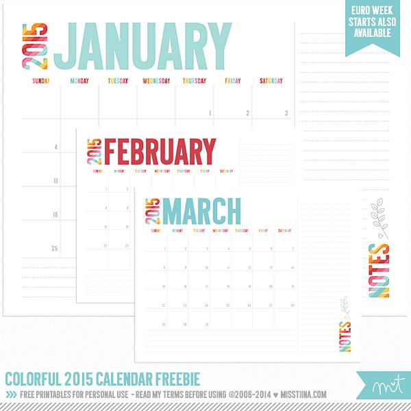 MissTiina-Colorful-2015-Calendar