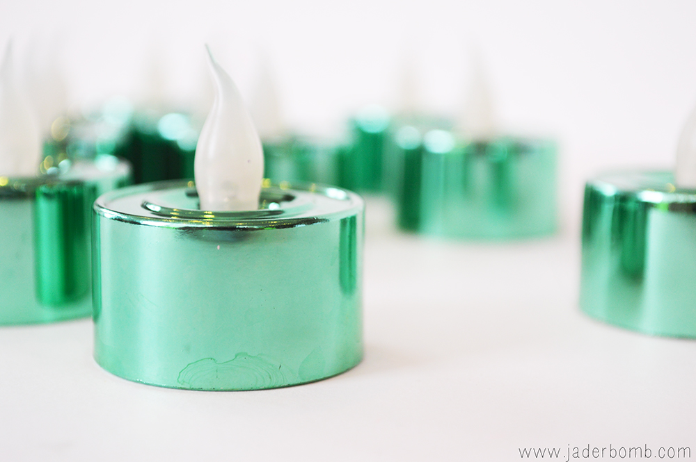 flameless candles diy