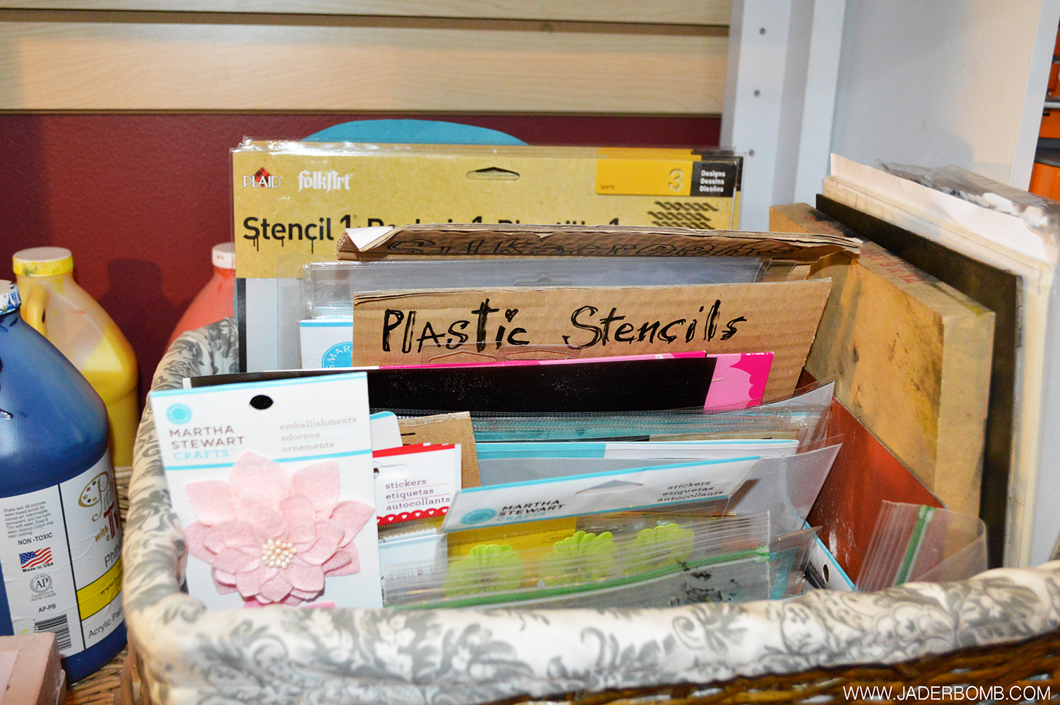 HOW TO STORE STENCILS