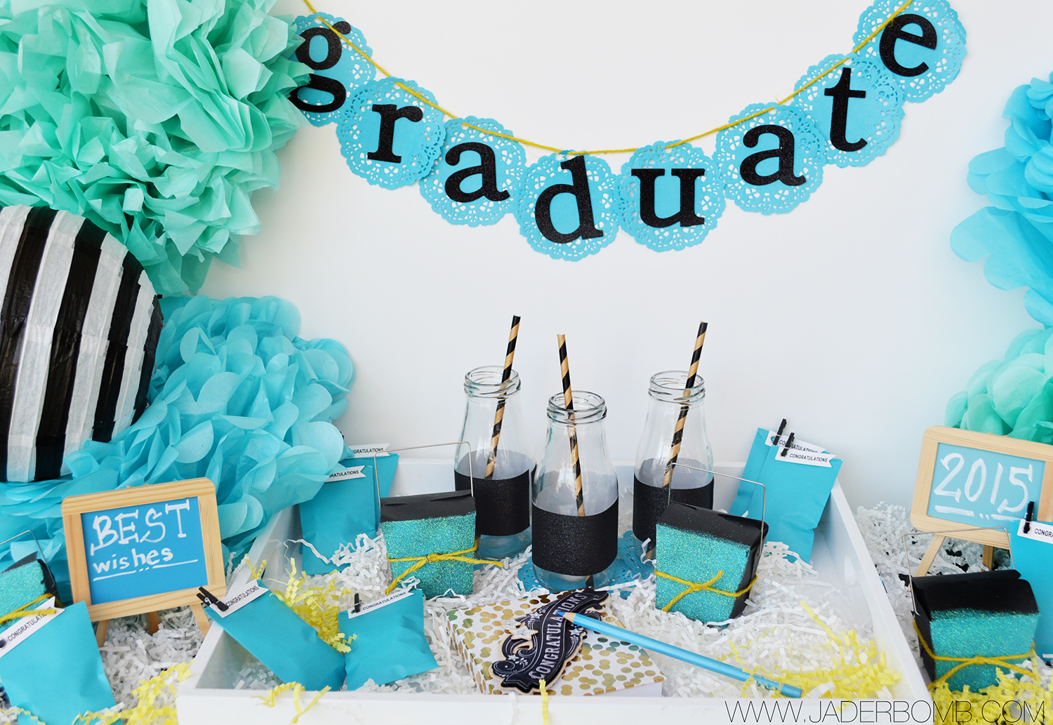 graduation party decor jaderbomb