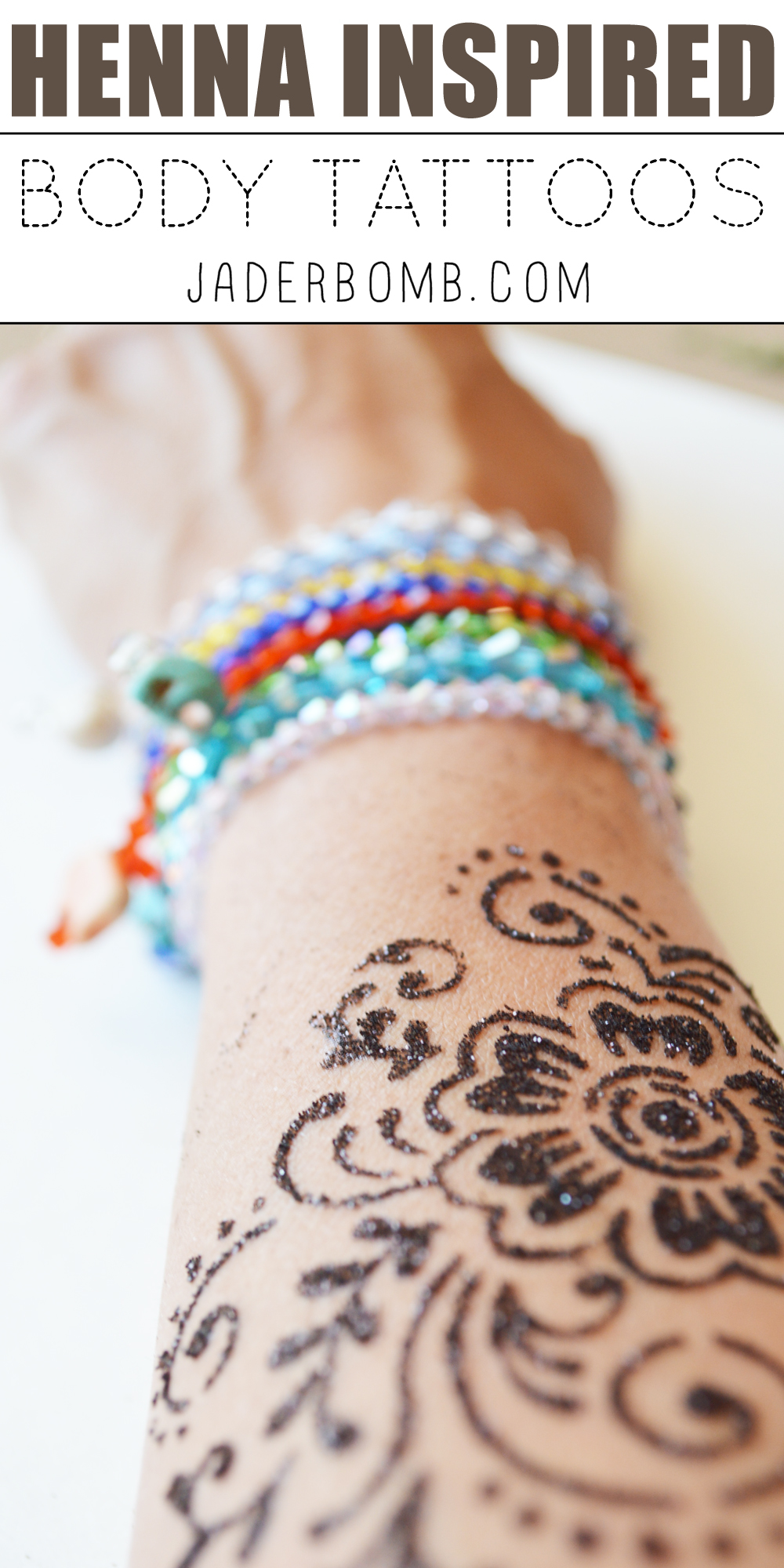 Henna Inspired Body Tattoos