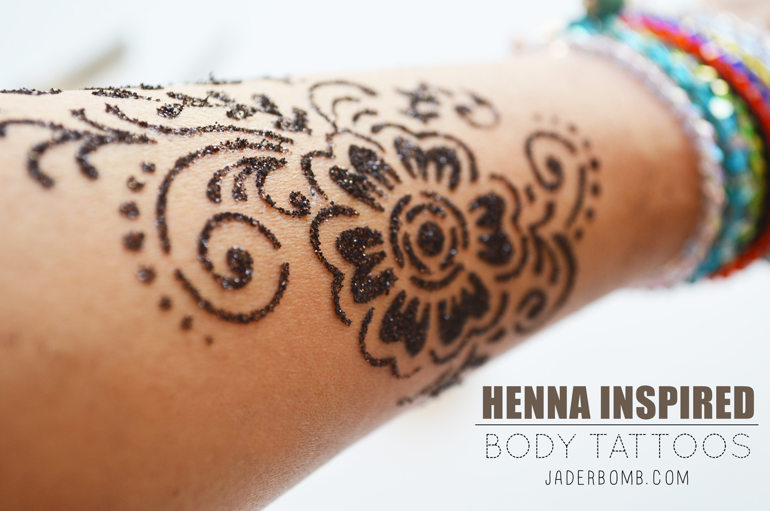 Henna Tattoo Tutorial : Henna inspired body tattoos jaderbomb
