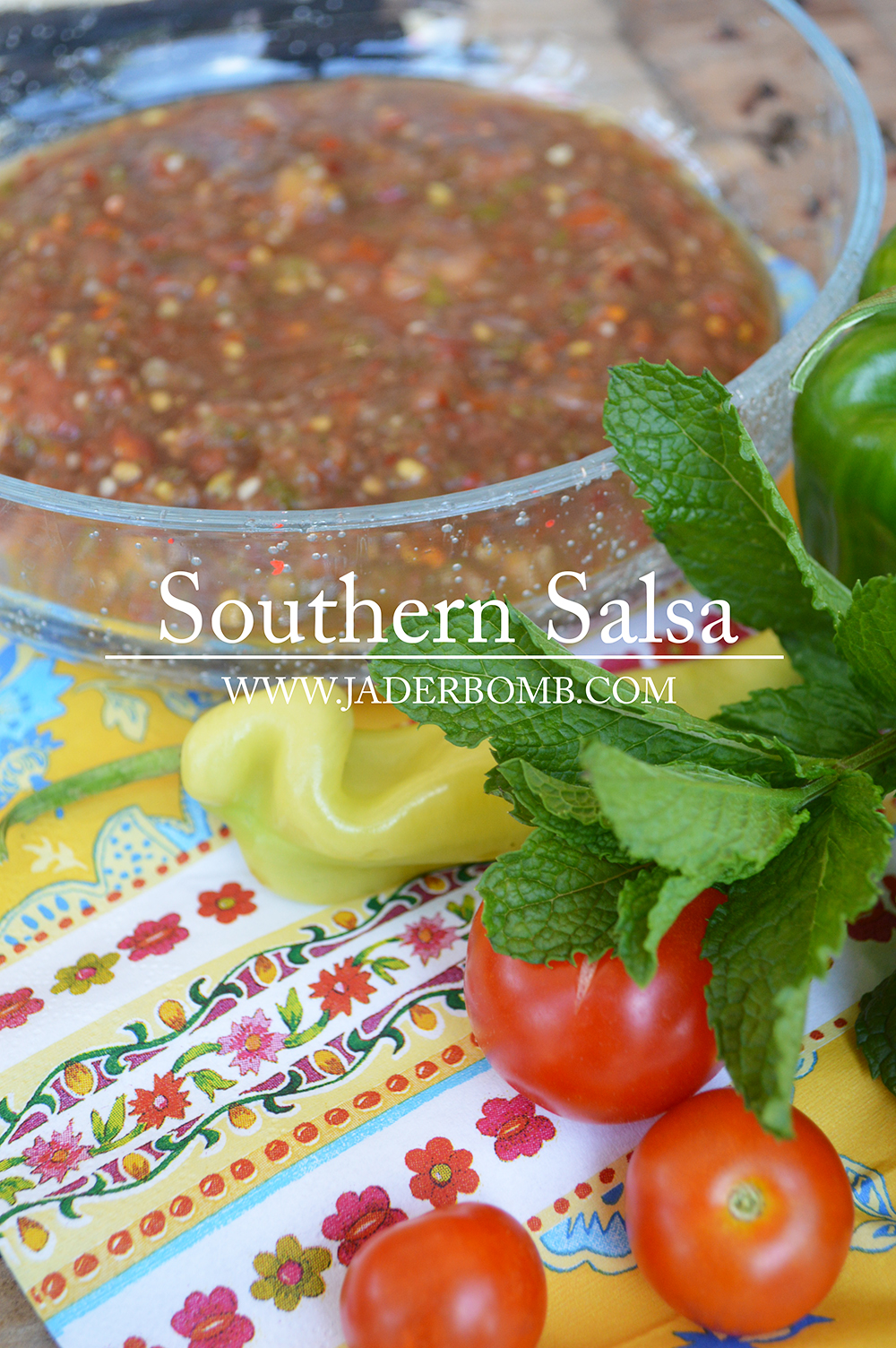 Homemade Fresh Southern Salsa