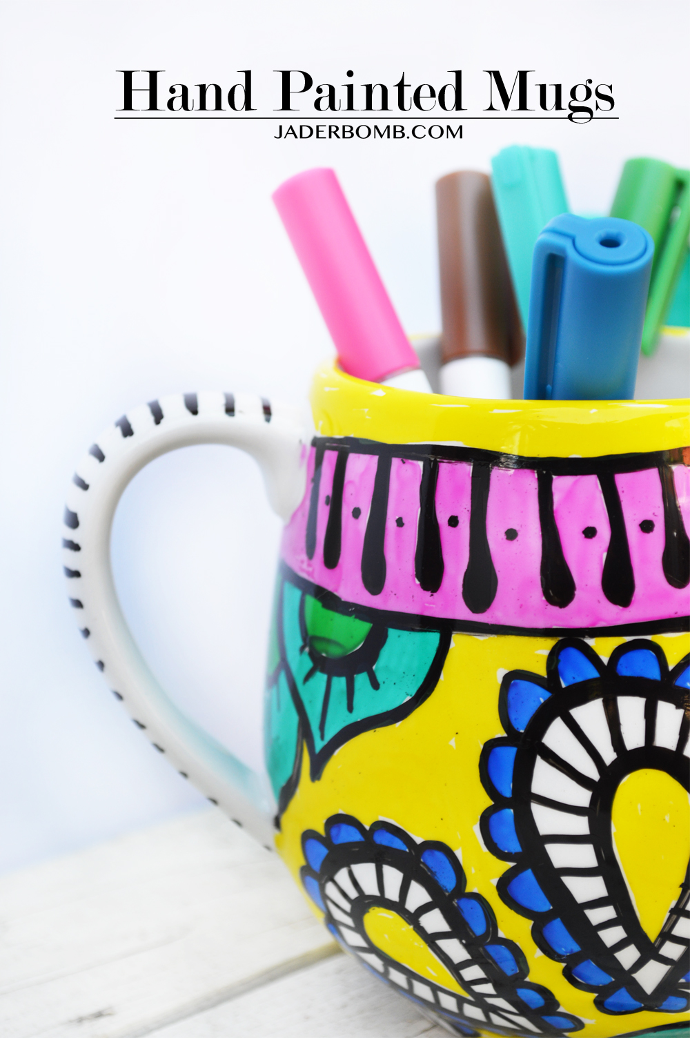 How To Paint Mugs