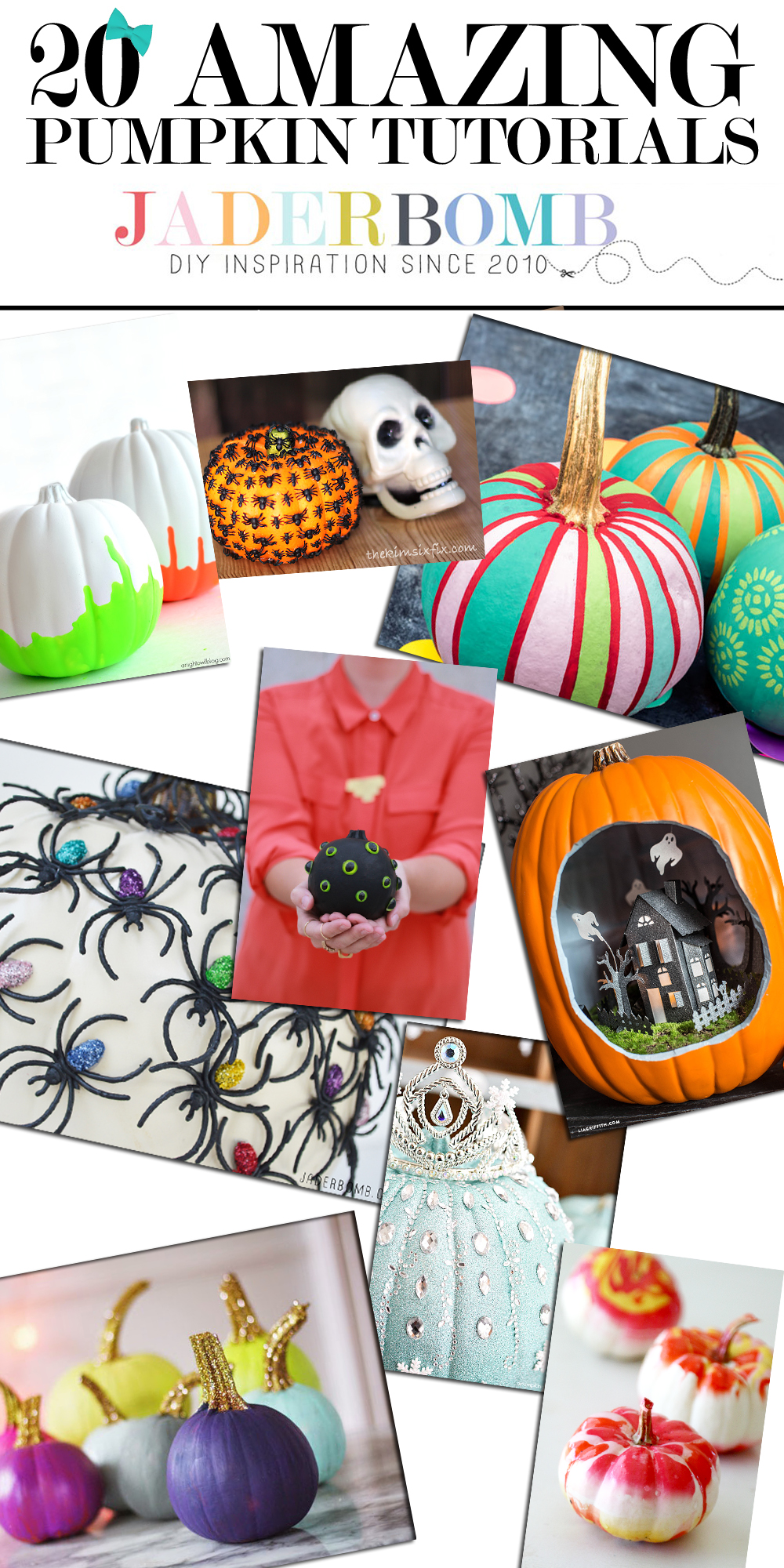 20 DIY PUMPKIN TUTORIALS