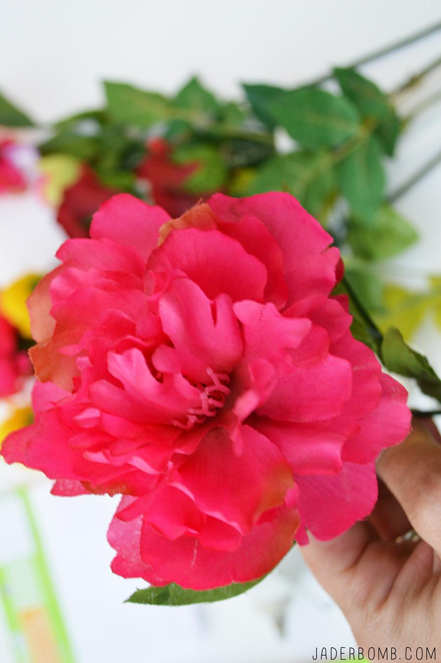 Pink Flower Crafts