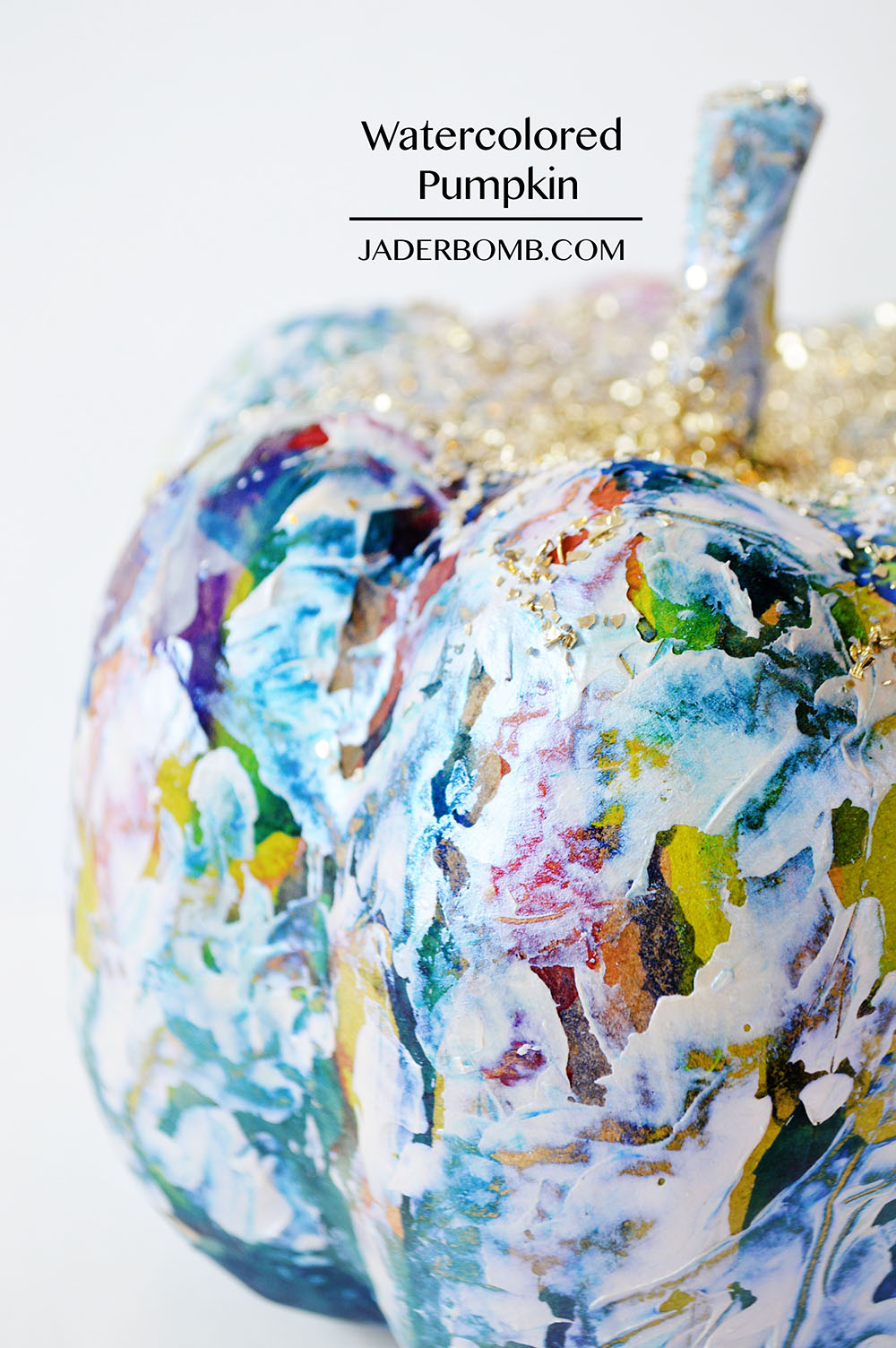 painted pumpkin project
