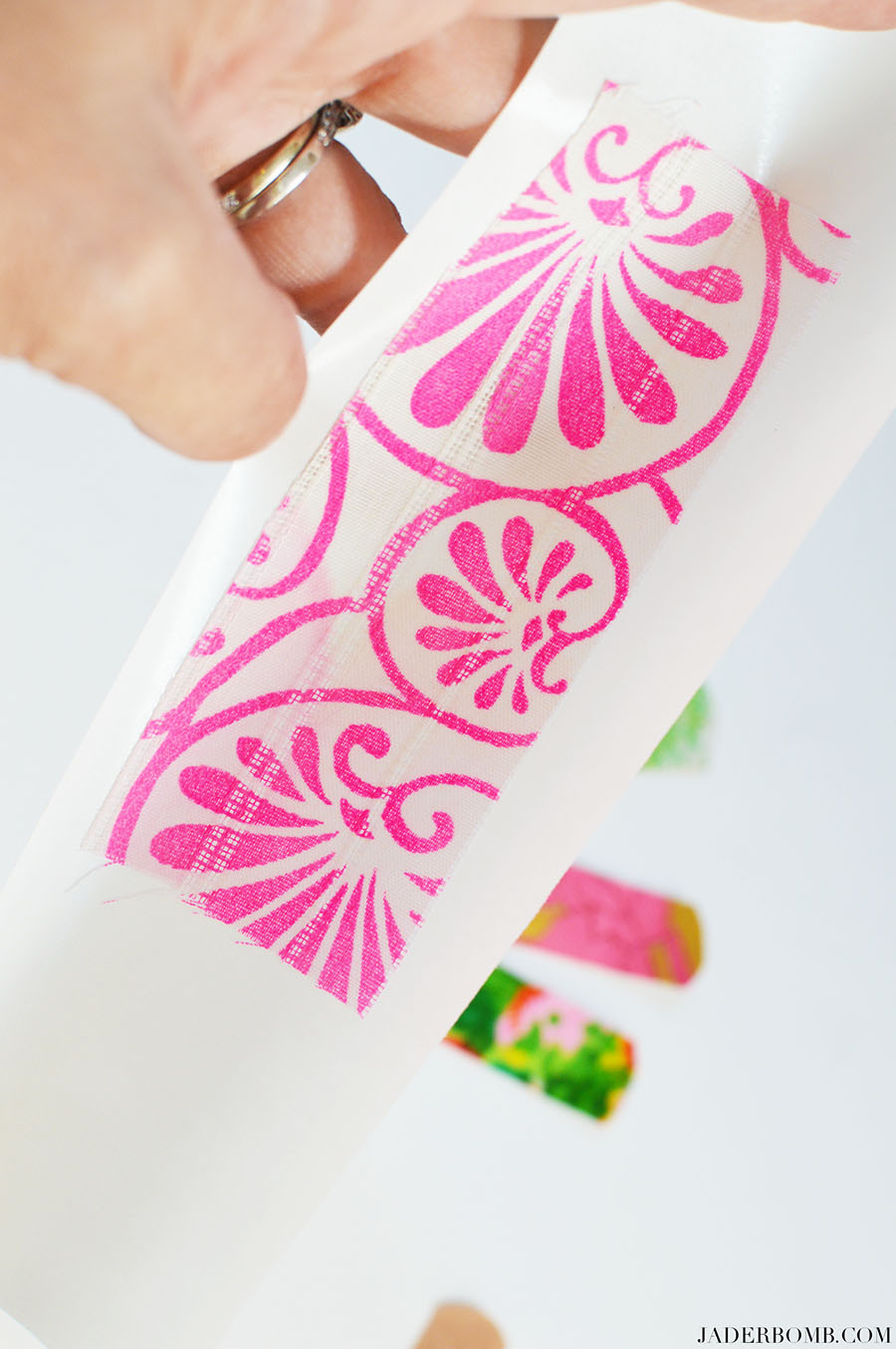 pink fabric projects