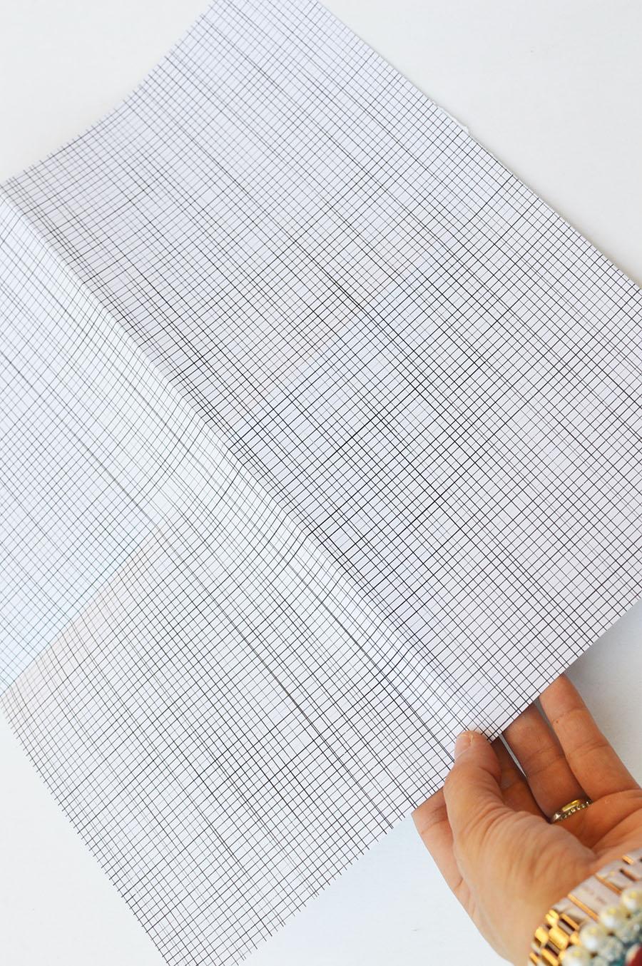 striped scrapbooking paper