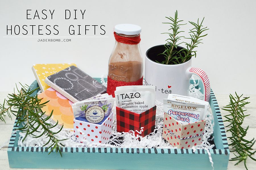 EASY DIY HOSTESS GIFTS