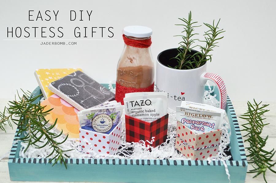 EASY DIY HOSTESS GIFTS