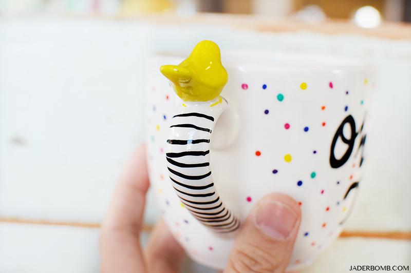 painted mugs