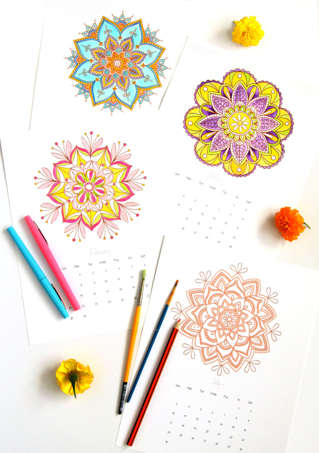 mandala-coloring-pages-apieceofrainbowblog-1