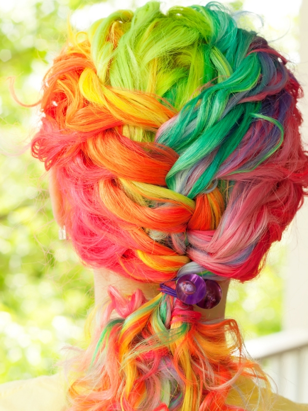 Rainbow Hair Color Ideas