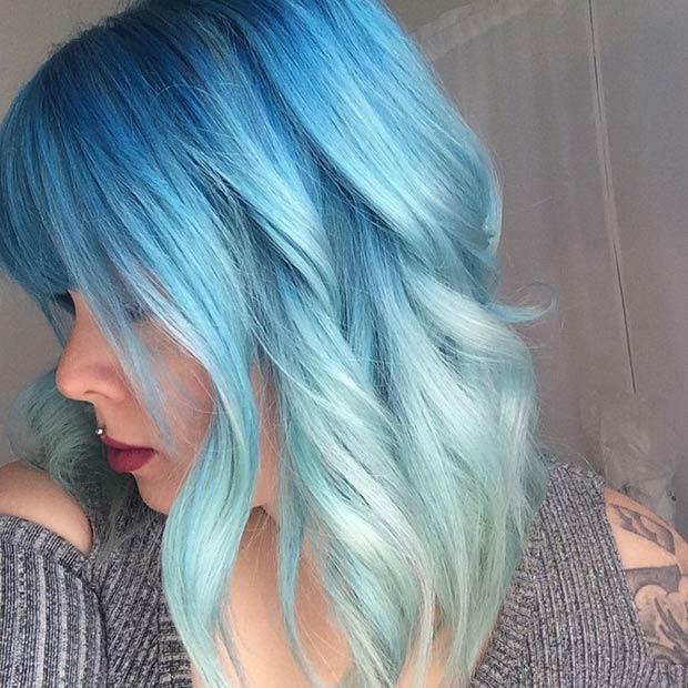 Rainbow Hair Color Ideas