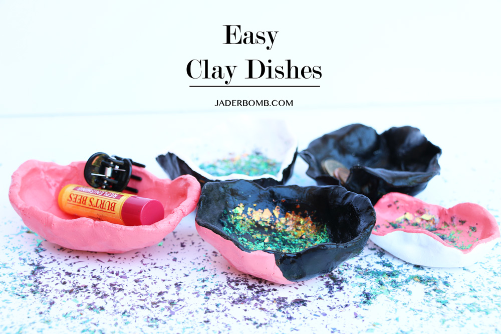 easy clay dishes