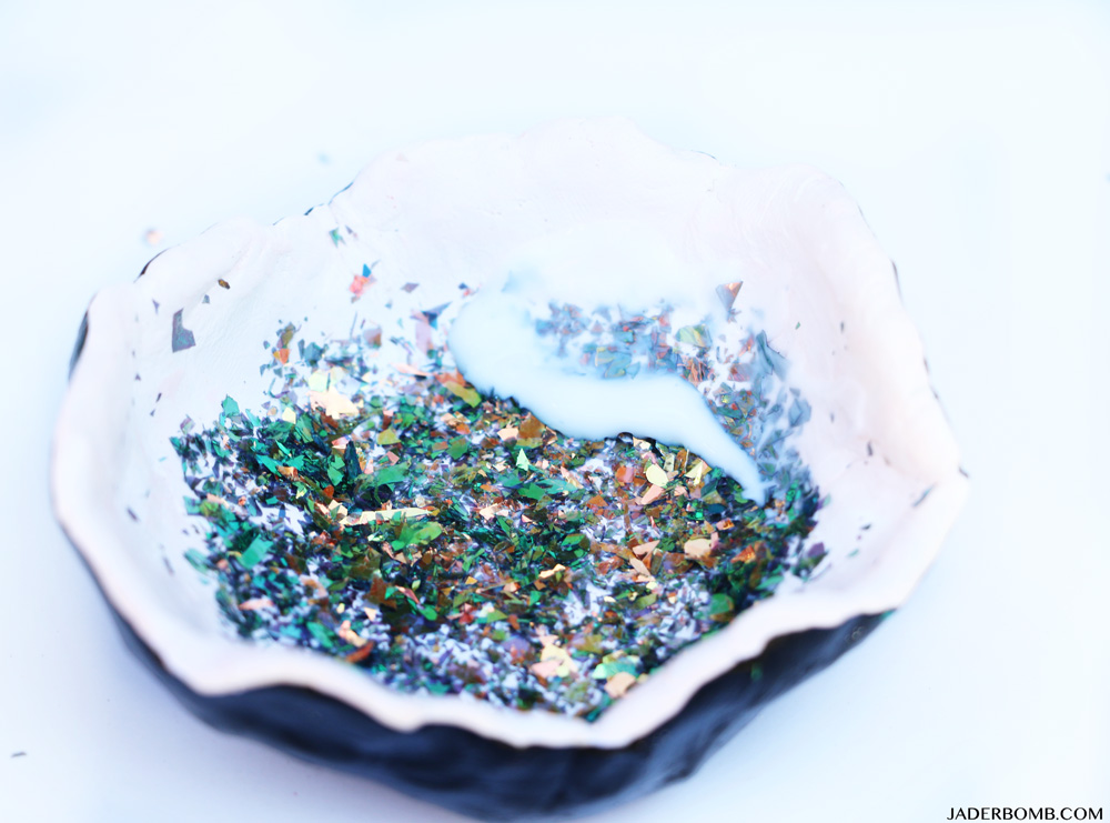 glitter projects