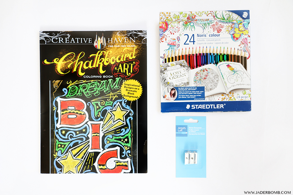 CHALKBOARD COLORING BOOKS