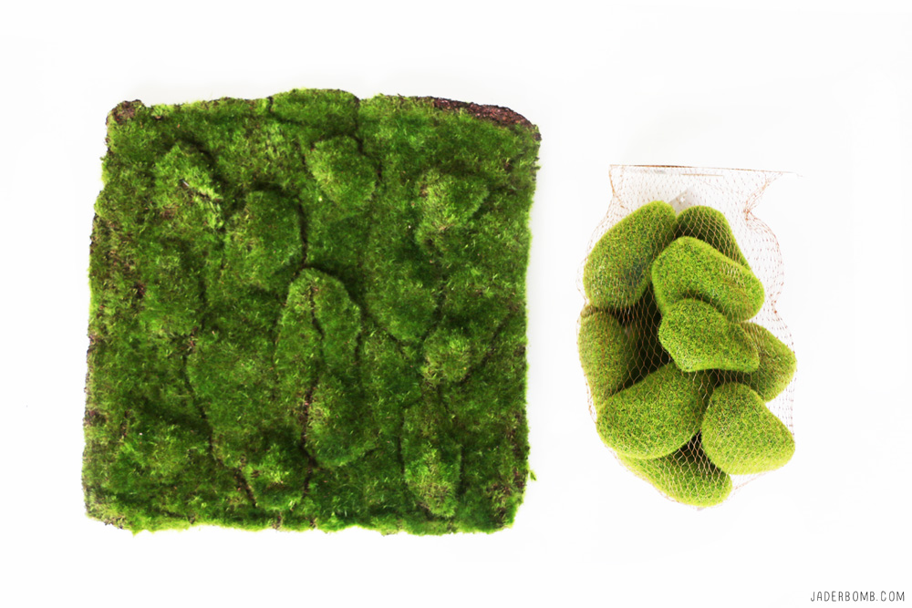 fake moss projects