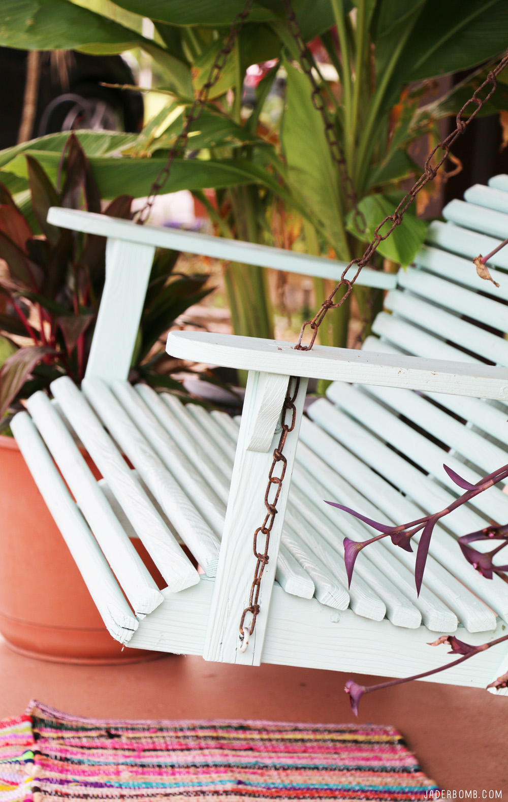 DIY Swing Makeover