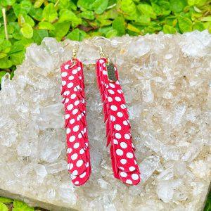 Red Pride Earrings